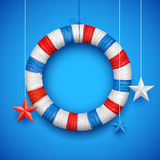 Fourth of July Happy Independence Day America. Illustration of Fourth of July background for Happy Independence Day of America Royalty Free Stock Images