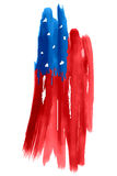 Fourth of July Happy Independence Day America. Illustration of Fourth of July background for Happy Independence Day of America Stock Photo