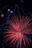 Fourth Of July Holiday Fireworks Royalty Free Stock Photo