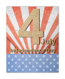 The fourth of july independence day Stock Image
