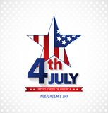 Fourth of July Independence Day. Abstract background. Vector. Fourth of July Independence Day. Abstract background. Festive Vector illustration Stock Illustration