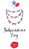 Fourth of july, Independence day of America Royalty Free Stock Photography