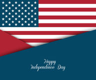 Fourth of July. Independence day greeting card Royalty Free Stock Photo