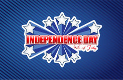 Fourth of july, independence day patriotic Royalty Free Stock Photos