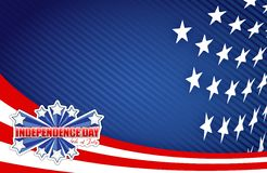 Fourth of july, independence day patriotic Stock Image