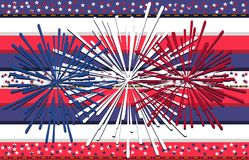 Fourth of July independence day seamless background, Perfect for invitations or announcements. Vector illustration. Eps 10 Royalty Free Illustration