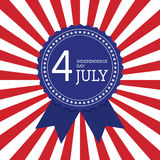 Fourth of July independence day United States of America backgro Royalty Free Stock Photos