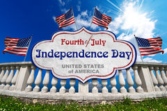 Fourth of July  - Independence Day Stock Photo