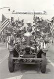 Fourth of July parade float, Ojai California Royalty Free Stock Photos