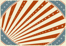 Fourth Of July Poster Background Stock Photos