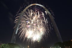 Fourth of July in St. Louis, Missouri Royalty Free Stock Image