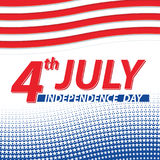 Fourth of July USA Independence day. Royalty Free Stock Images