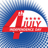 Fourth of July USA Independence day. Royalty Free Stock Photos