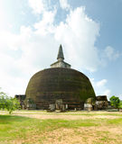 Fourth largest dagoba in Sri Lanka Royalty Free Stock Images