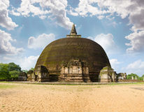 Fourth largest dagoba in Sri Lanka Stock Photo