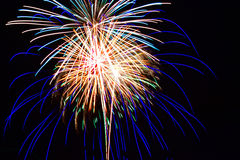 Free Fourth Of July Fireworks Royalty Free Stock Image - 94409716