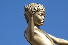 Fourth plinth, Trafalgar Square, London, England Royalty Free Stock Photos