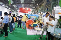 The fourth session of the China Charity Project Exchange Exhibition in Shenzhen Convention and Exhibition Center Stock Photos