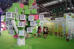 The fourth session of the China Charity Project Exchange Exhibition in Shenzhen Convention and Exhibition Center. September 18th, 2015, the fourth China Charity Royalty Free Stock Photos