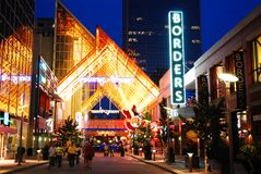 Fourth Street Live, Louisville royalty free stock image