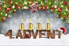 Fourth sunday of advent Stock Photography