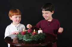 Fourth Week of Advent Stock Photos