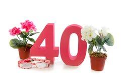 Fourty Royalty Free Stock Photos