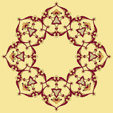 Fourty one series designed from the ottoman pattern Royalty Free Stock Photo