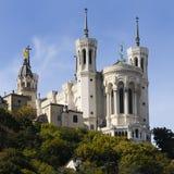 fourviere собора стоковое фото rf
