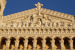 Fourviere Basilica front wall Royalty Free Stock Image