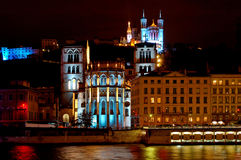 Fourviere Hill (Lyon, France) Royalty Free Stock Photo