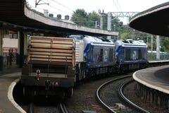 Fous diesels-électriques de Vossloh UKLight de la classe 68 Photo stock