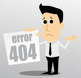 fout 404 Royalty-vrije Stock Afbeelding