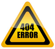 Fout 404 Stock Fotografie