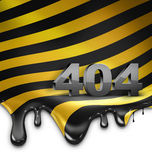 404 fout Royalty-vrije Stock Afbeelding