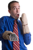 Fout in Berekening Stock Fotografie