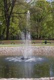 Foutain воды Стоковая Фотография
