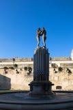 Foutain сработанности, Италии, apulia, lecce Стоковые Фото
