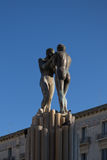 Foutain сработанности, Италии, apulia, lecce стоковые фотографии rf