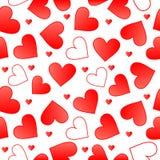 Foutloos valentijnskaart Stock Foto