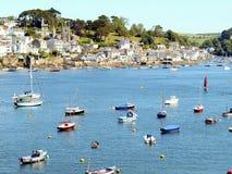 Fowey, Cornwall. obrazy royalty free