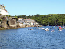 Fowey, Cornwall. obrazy stock