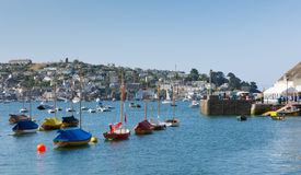 Fowey Cornwall England UK Stock Photo