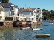 Fowey, Cornwall. Stock Image