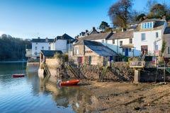 Fowey in Cornwall Stock Photo