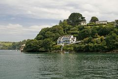 Fowey, Cornwall, Southwest England, United Kingdom Stock Photos