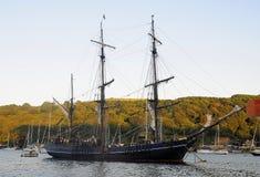 Fowey pirata statek Fotografia Stock