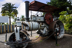 Fowler Steam Roller in Santa Catarina Park Funchal Madeira Royalty Free Stock Photography
