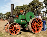 The Fowler Traction Engine Royalty Free Stock Photography