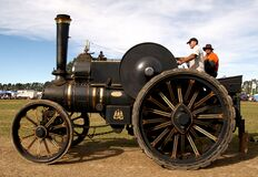 The Fowler Traction Engine (2) Stock Images